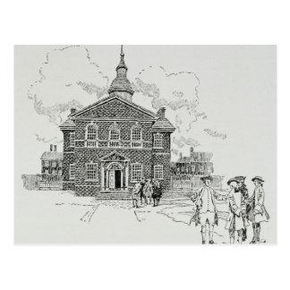 Carpenter's Hall Philadelphia Postcard