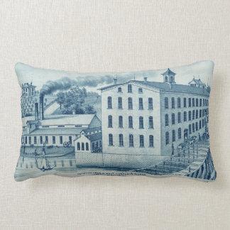 Carpentersville Illinois 1871 Illinois Iron n Bolt Lumbar Cushion