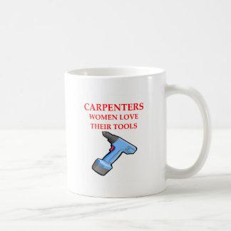 carpentrer coffee mug