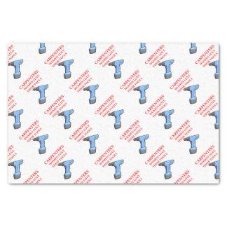 carpentrer tissue paper