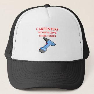 carpentrer trucker hat