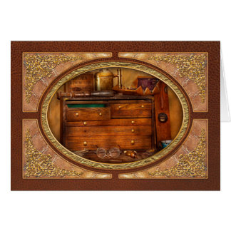Carpentry - Tools - In my younger days Greeting Card