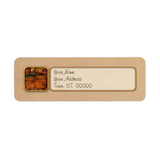 Carpentry - Tools - In my younger days Return Address Label
