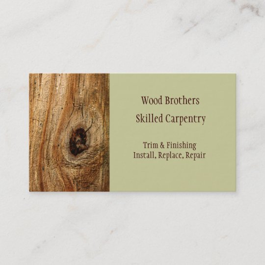 Carpentry woodwork business card template zazzle carpentry woodwork business card template friedricerecipe Images
