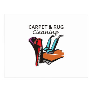 CARPET AND RUG CLEANING POSTCARD
