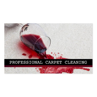 Carpet Cleaning, Flooring, Steamers Business Pack Of Standard Business Cards