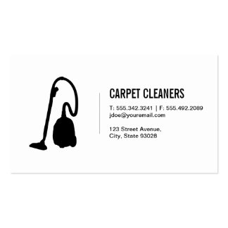 Carpet Cleaning Pack Of Standard Business Cards