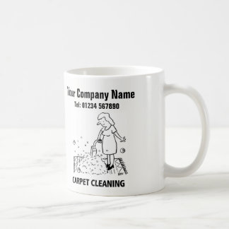 Carpet Cleaning Services Cartoon Mug