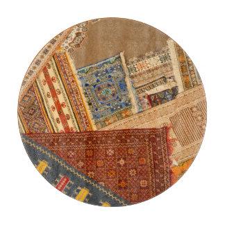 Carpet Collage Close Up Cutting Board