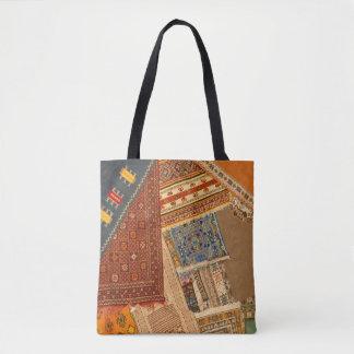 Carpet Collage Close Up Tote Bag