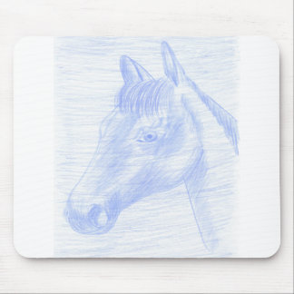 Carpet for rat horse drawing mouse pad