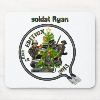 Carpet Lan mouse of Christmas Ryan soldier Mouse Pad