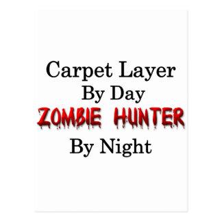 Carpet Layer/Zombie Hunter Postcard