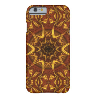 Carpet of the Sun Red and Gold Abstract Barely There iPhone 6 Case