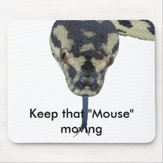 Carpet Pythons rule Mouse Pad