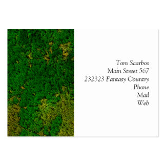 carpet structure,green pack of chubby business cards