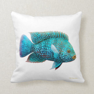 Carpintis Texas Cichlid Fish Pillow