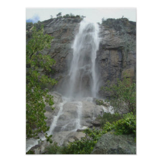 Carr Canyon Waterfall Poster