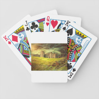 Carreg Cennen Castle .... Bicycle Playing Cards