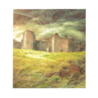 Carreg Cennen Castle .... Notepad
