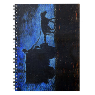 Carriage at dusk notebook