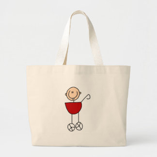 Carriage Baby Stick Figure Bag