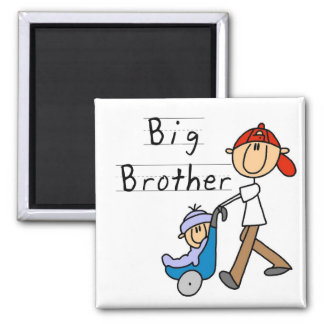 Carriage Big Brother Tshirts and Gifts Square Magnet