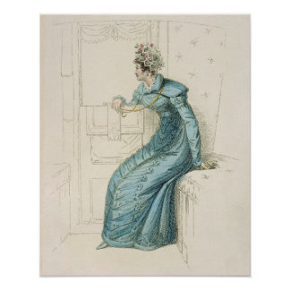 Carriage dress, fashion plate from Ackermann's Rep Print