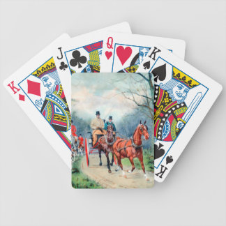 Carriage Driving Playing Cards
