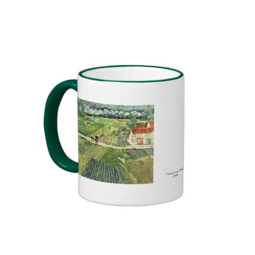 Carriage with Train by Vincent van Gogh Coffee Mug