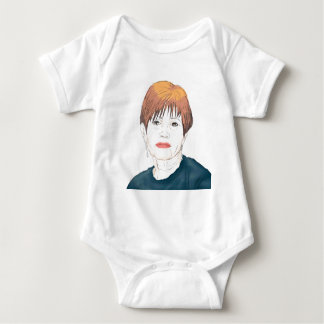 Carrie Fisher Baby Bodysuit