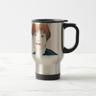 Carrie Fisher Travel Mug