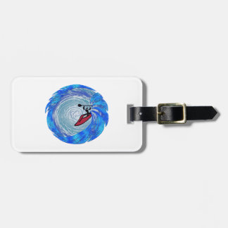 Carried Away Luggage Tag