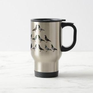 Carrier pigeons champions mug