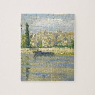 Carrieres-Saint-Denis by Claude Monet Jigsaw Puzzle
