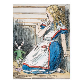 Carroll: Alice, 1865 Postcard