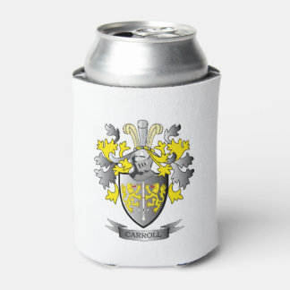 Carroll Coat of Arms Can Cooler