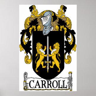 Carroll Coat of Arms Canvas Print