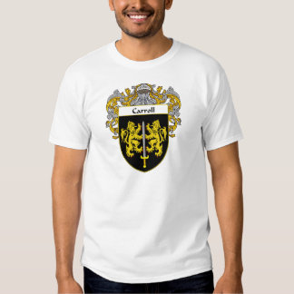 Carroll Coat of Arms (Mantled) Tshirt