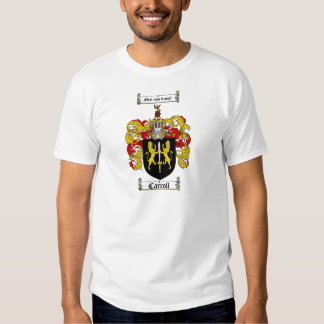 CARROLL FAMILY CREST -  CARROLL COAT OF ARMS SHIRTS