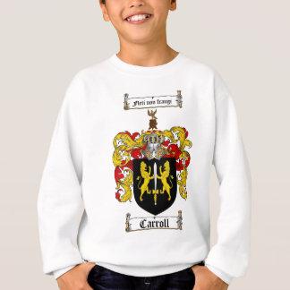 CARROLL FAMILY CREST -  CARROLL COAT OF ARMS SWEATSHIRT