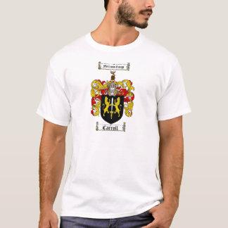 CARROLL FAMILY CREST -  CARROLL COAT OF ARMS T-Shirt