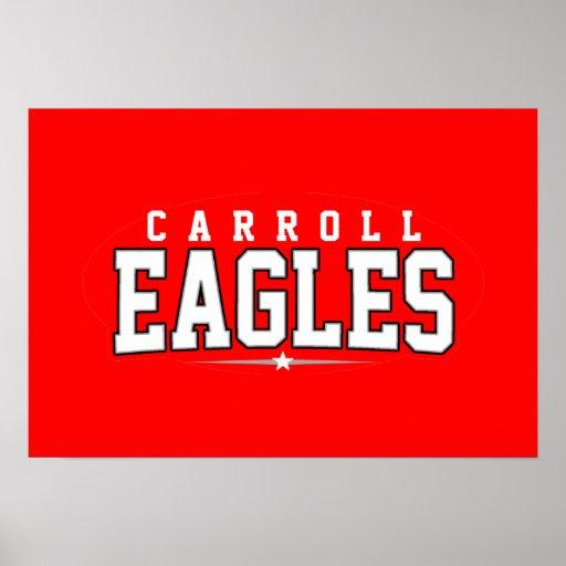 Carroll High School; Eagles Posters
