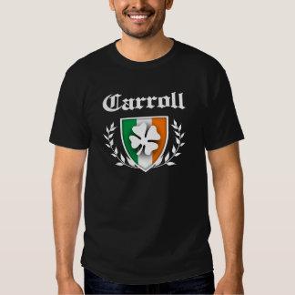 Carroll Shamrock Crest T Shirt