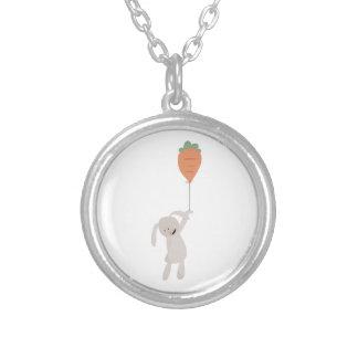 Carrot Balloon Necklace