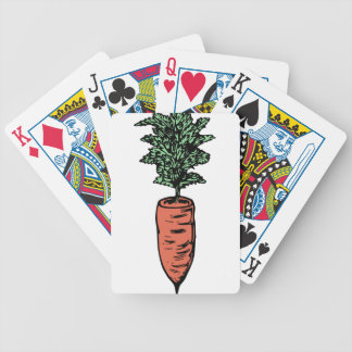 Carrot Bicycle Playing Cards