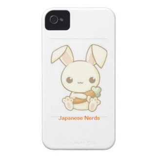 Carrot Bunny iPhone 4 Case-Mate Case
