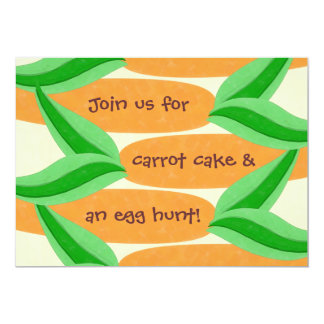 Carrot Cake and an Egg Hunt Easter Invitation