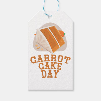 Carrot Cake Day - Appreciation Day Gift Tags