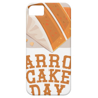 Carrot Cake Day - Appreciation Day iPhone 5 Covers